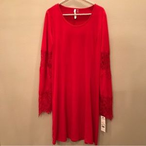 NWT NY Collection Red Dress